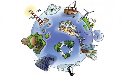 Logo Integrated Island Database | Francesca Panatta Illustration