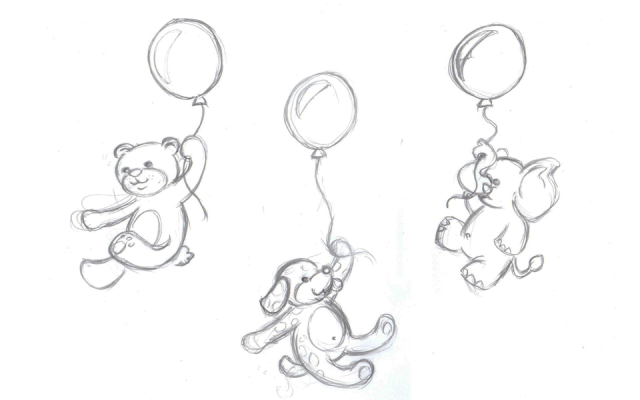 Balloons | Francesca Panatta Illustration